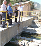 Assembly Member Brown Tours San Gabriel Valley Water Company's Facilities