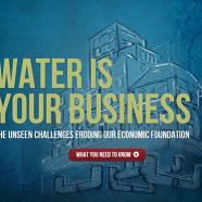"NAWC Partners with U.S. Chamber of Commerce to Re-Launch ""Water is Your Business"" Website"