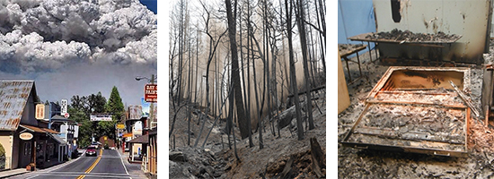 Rim Fire & Structure Damage
