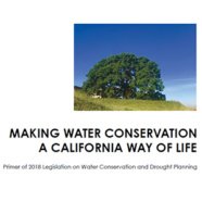 CWA Weighs in on Making Water Conservation a California Way of Life Primer